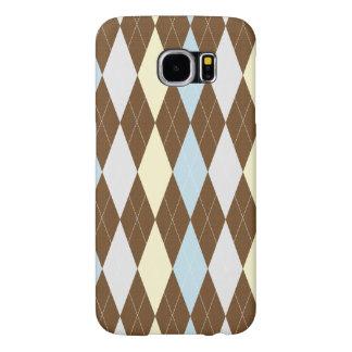 Checked Pattern Samsung Galaxy S6 Case