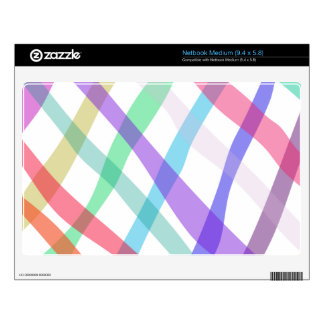 Checked Pattern Netbook Decal