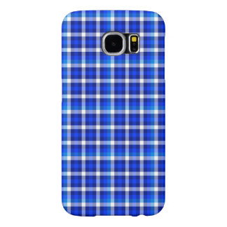 Checked Pattern with Optical Illusion Samsung Galaxy S6 Cases