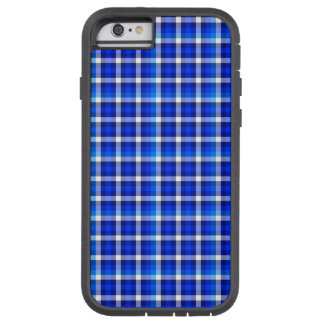 Checked Pattern with Optical Illusion Tough Xtreme iPhone 6 Case