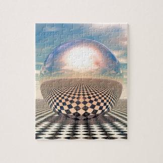 Checker Ball Jigsaw Puzzle