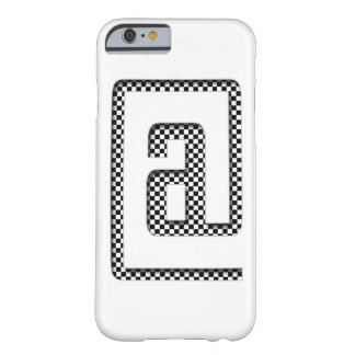 @ checker barely there iPhone 6 case