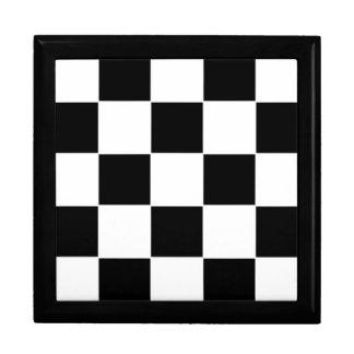Checker Board Jewelry Box