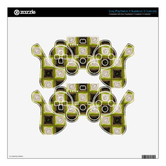 Checker Board Pattern PS3 Controller Skins
