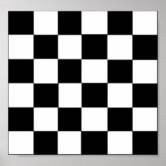 checker board poster