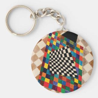 Checker by Wassily Kandinsky Keychain