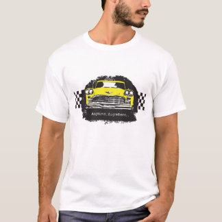 Checker Cab Taxi Driver Anytime Anywhere t-shirt