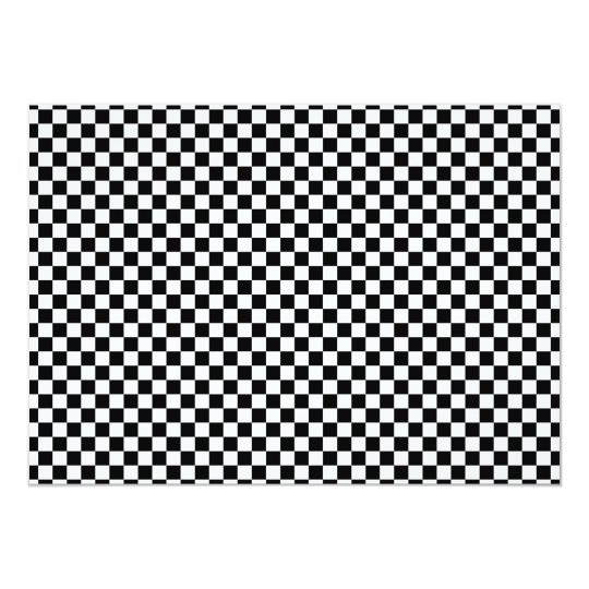 Checker Chess Board Card