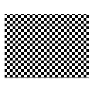 Checker Chess Board Postcard