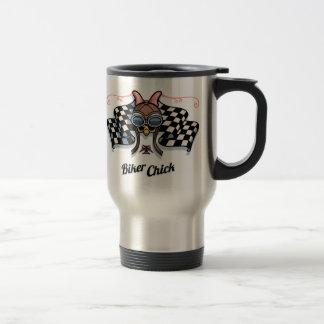 Checker Chick III Travel Mug