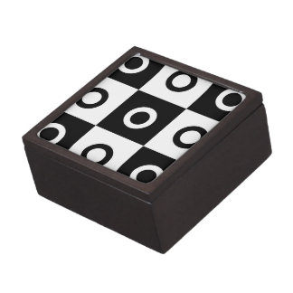 Checker Circles Jewelry Box