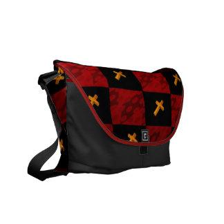 Checker Cross bag Commuter Bag