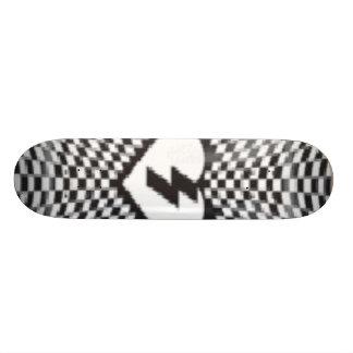 checker decker skate board deck