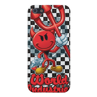 Checker Devilman Cases For iPhone 5