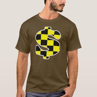 Checker Dollar Sign T-Shirt