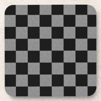 Checker Drink Coaster
