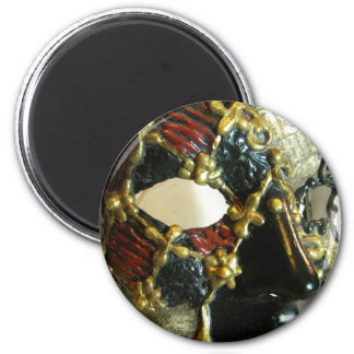 Checker Face 2 Inch Round Magnet