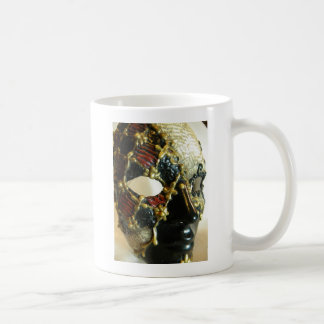 Checker Face Coffee Mug