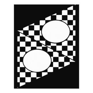 Checker Flag DIY Bunting Custom Flyer