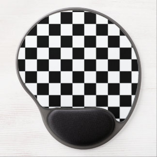 Checker  Flag Gel Mouse Pad