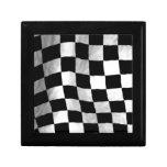 Checker Flag Trinket Box
