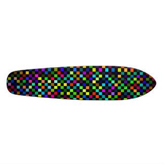 checker oldschool skateboard decks