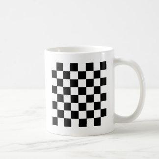 Checker Pattern Coffee Mug