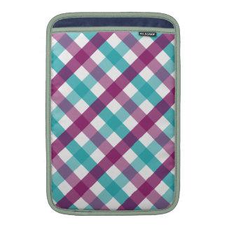 Checker pattern MacBook sleeves