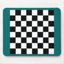 Checker Pattern Mouse Pad