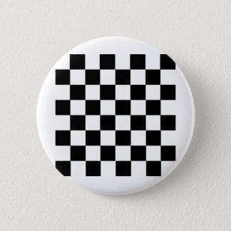 Checker Pattern Pinback Button