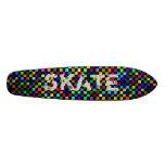 checker, SKATE Skate Board