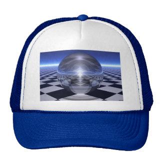 Checker Spheres Trucker Hat