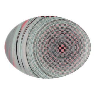 Checker Swirl Platter