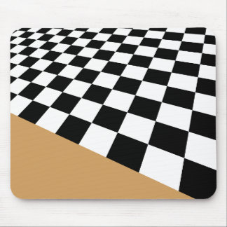 Checker..with your accent color. mouse pad