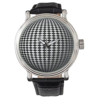 Checker World Wrist Watch