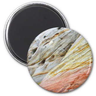 Checkerboad Mesa Zion Sandstone Strata Fridge Magnet
