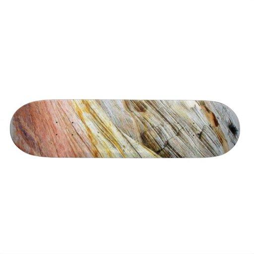 Checkerboad Mesa Zion Sandstone Strata Skate Deck
