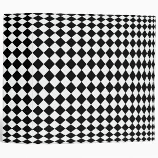 checkerboard 3 ring binder