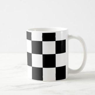 CHECKERBOARD! (a square tile design) ~ Coffee Mug
