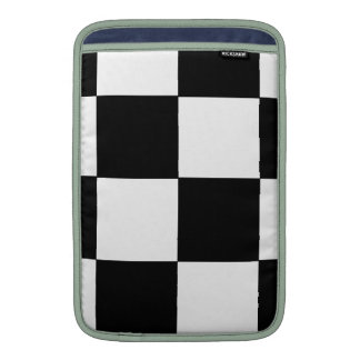 CHECKERBOARD! (a square tile design) ~ Sleeve For MacBook Air
