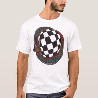 Checkerboard Ball and Dragon Shirt