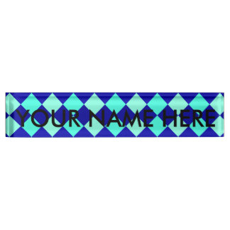CHECKERBOARD BLUES! ~ NAMEPLATE