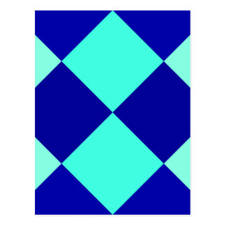 CHECKERBOARD BLUES! ~ POSTCARD