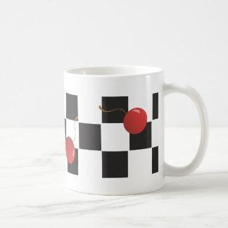 Checkerboard Cherries Mug