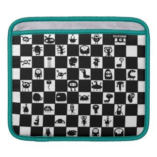 Checkerboard Critters iPad Sleeves