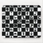 Checkerboard Critters Mouse Pads
