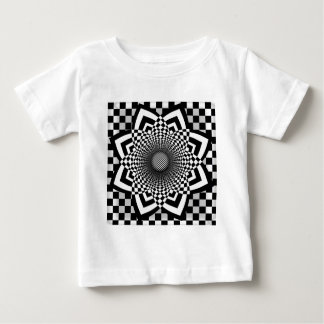 Checkerboard Flare Baby T-Shirt
