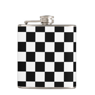 Checkerboard Flask