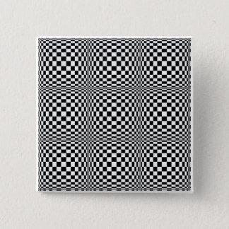Checkerboard Illusion Square Button