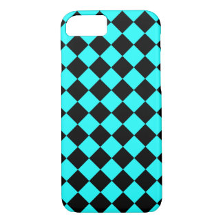 CHECKERBOARD IN BLUE ~ iPhone 8/7 CASE
